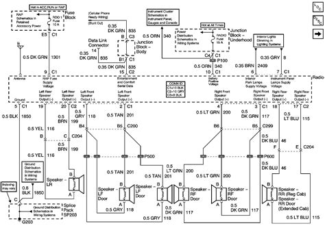 wiring diagram 2002 chevrolet silverado wiring diagram