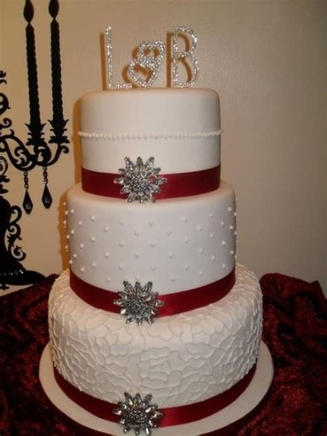 picture  adorable christmas wedding cakes