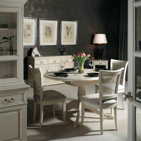 gepolsterte stühle mit lehne dekor klein esszimmer