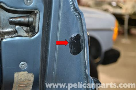Remove Exterior Door Knob Pelican Technical Article Mercedes W123 Exterior Door Handle Removal