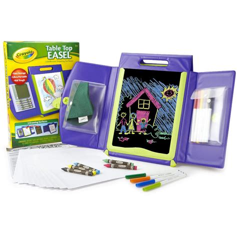 crayola to go table easel review crayola portable kid tough table top easel drawing