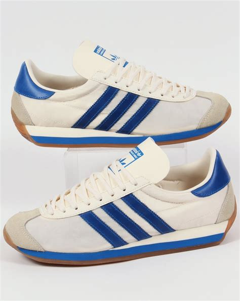 adidas sneaker trainers adidas country og trainers chalk white bluebird originals