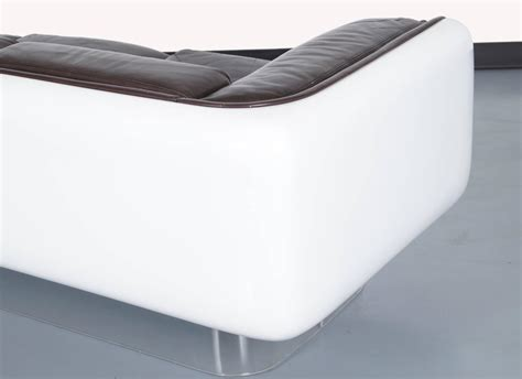 floating couch vintage floating sofa by steelcase at 1stdibs