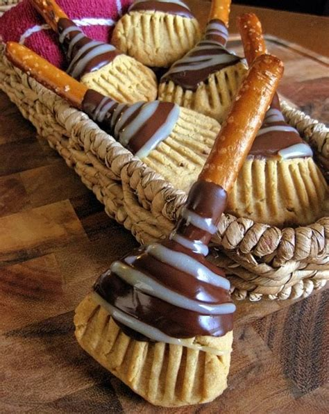 Teh Bandulan By H O W Kitchen s kitchen witch s broomstick cookies