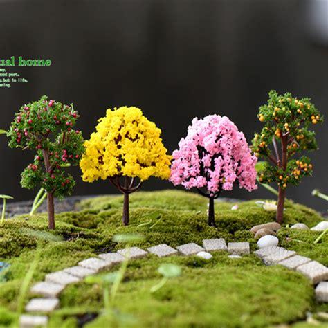 aliexpress com buy mini garden decorations resin tree