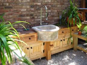 Outdoor Kitchen Sinks Ideas Potting Shed At Augusta Residence