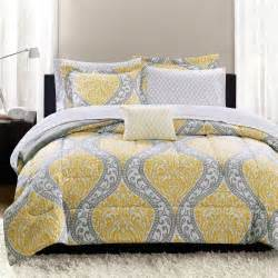 walmart bedding yellow and gray bedding that will make your bedroom pop