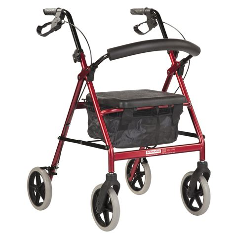 the seat walker better living all terrain wheeled walker