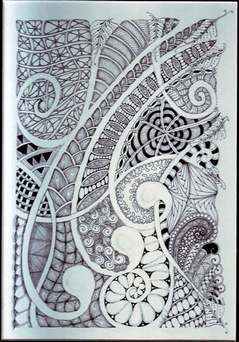 doodle fill free curvy zentangle draw lines through space quot them