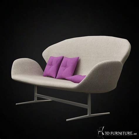 arne jacobsen swan sofa  furniture  models