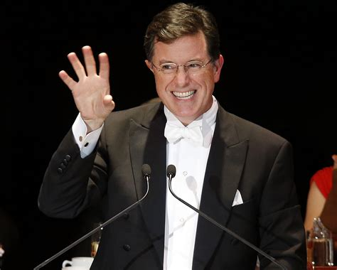 who is the real stephen colbert an early peek at his late stephen colbert s first week guest list includes george