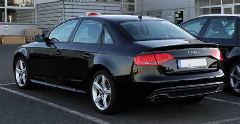 Audi A4 S Line 2011 by File Audi A4 Tfsi Ambition S Line B8 Heckansicht 15