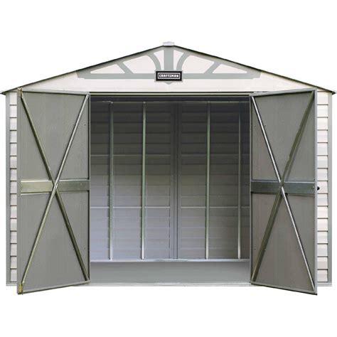 craftsman    vinyl coated steel shed rugged storage