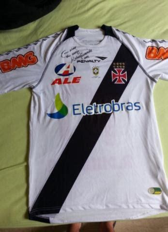 autografo vasco camisa vasco autografo ramon vazlon brasil