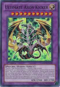 the ultimate yugioh deck ultimate axon kicker yu gi oh it s time to duel