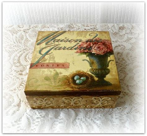 Decoupage Memory Box - 124 best my decoupage images on decoupage box