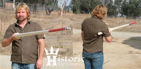 couched lance lance heavy hardwood jousting circa 1400 1550 haa je04