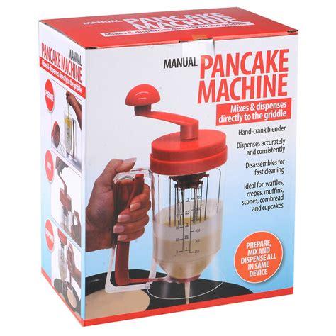 Manual Pancake Machine Batter Mix Dispenser Measuring Label Olb718 batter dispenser wiltshire batter dispenser oxo batter