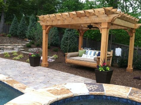 outdoor swinging beds 17 best ideas about outdoor swing beds on pinterest