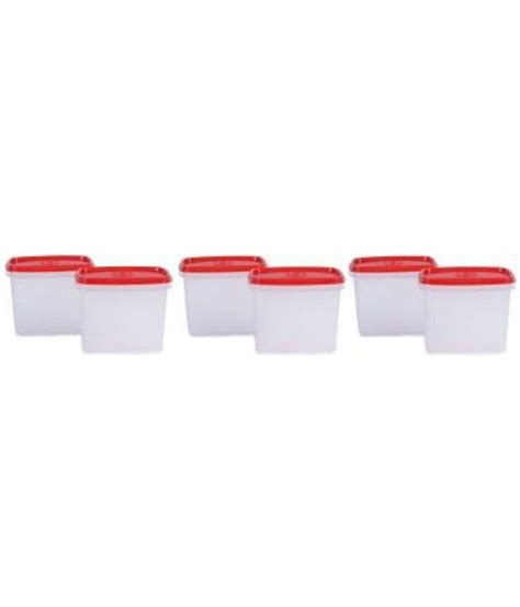 Tupperware Smart Saver Oval 2 1 1l tupperware 1 1 l polypropylene smart saver container pack