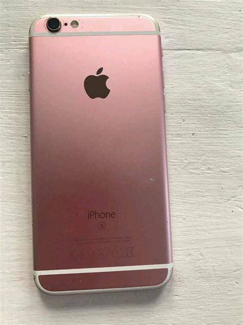 rose gold iphone  gb   open  swaps
