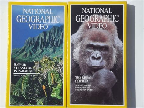 Good Lighting 20 vhs tapes national geographic video tapes lot many
