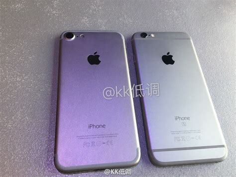 another compares claimed iphone 7 casing to iphone 6s