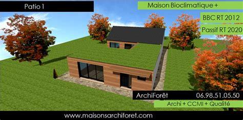 maison en u avec patio patios maison avec patio par architecte constructeur