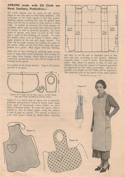 sewing pattern vintage free sentimental baby free apron patterns