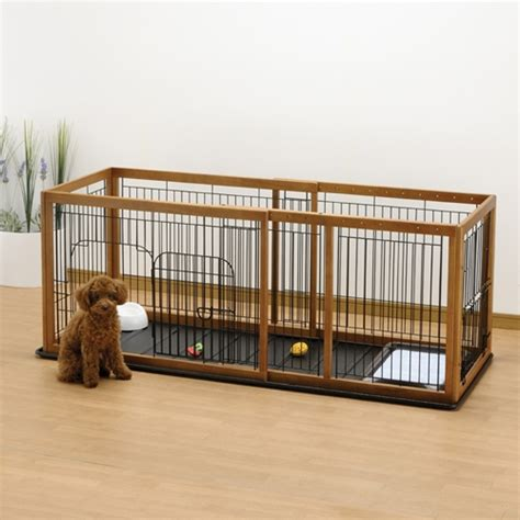 playpen with floor expandable pet pen with floor tray
