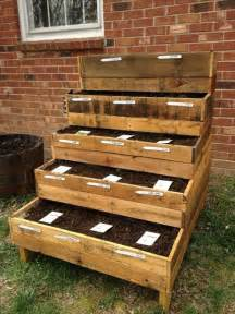 diy pallet garden box project pallets designs