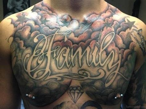 family chest tattoos for men 50 glorious chest tattoos for