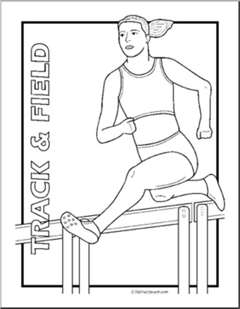 special olympics track and field coloring pages coloring pages