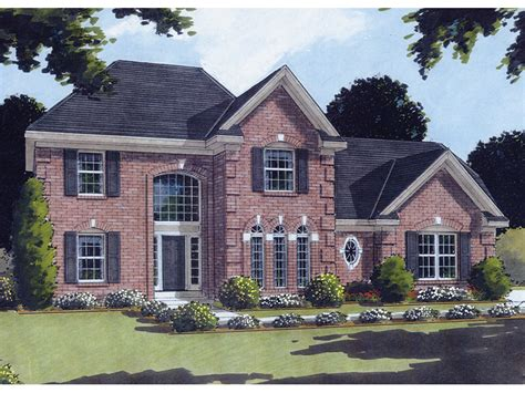 georgian style home plans villanova georgian style home plan 065d 0199 house plans
