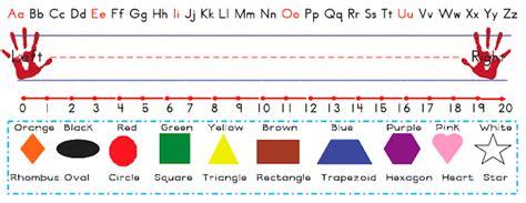 Printable Name Tags With Number Line | name tag template for kids printable