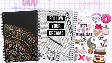 como decorar libretas escolares decora tus cuadernos libretas carpetas decora tu