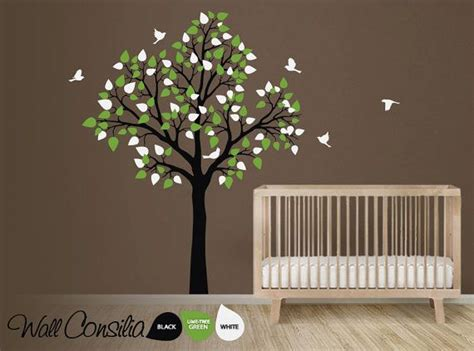 Baby Nursery Wall Decals Tree Baby Nursery Tree Wall Decal Wall Sticker Tree Wall Decal Tree Decals Large Approx 77 Quot X