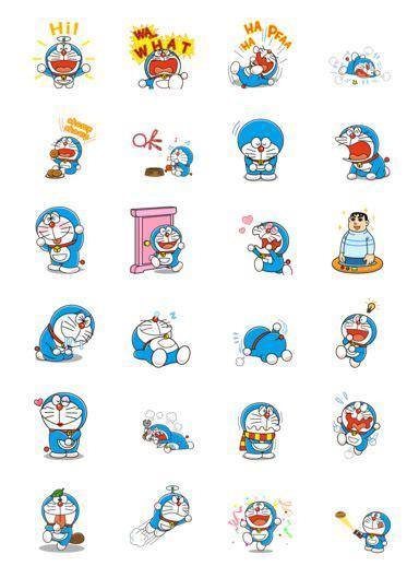 Sticker Ac Doraemon stickers on