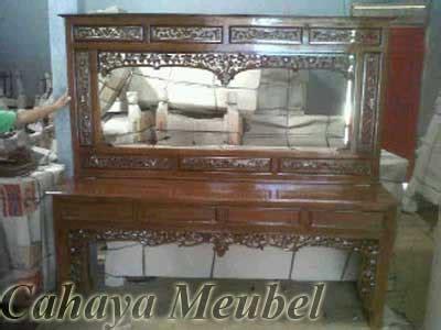 Cermin Krepyak Jati meja rias krepyak kayu jati meja rias cantik cahaya