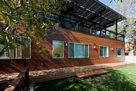 modern rustic home with casita modern exterior contemporary broom way residence keribrownhomes