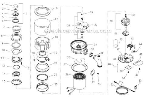 insinkerator parts diagram insinkerator lc50 13 parts list and diagram