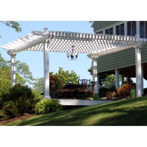 awnings bradenton fl bradenton vinyl freestanding 8 ft pergola white jet com
