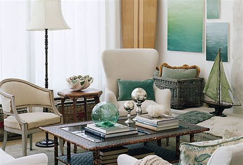 ocean themed living room beach inspired decorating ideas