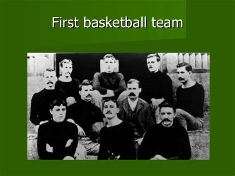 the history of the history of basketball