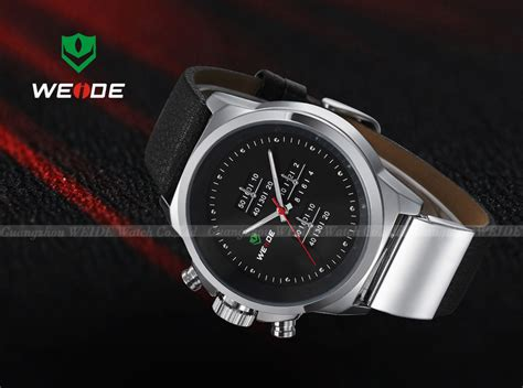 Jam Tangan Anti Air Leather Sports 30m Water Resistant weide japan quartz miyota leather sports 30m water resistance wh3305 silver black