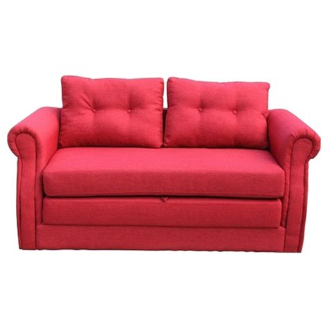 red fabric sofa bed lucca fabric sofa bed red dcg stores