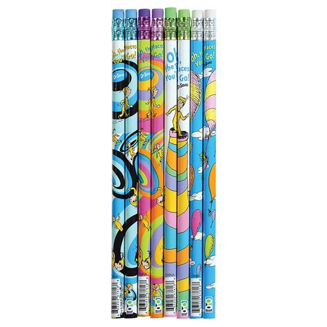 000820148x oh the places you ll go dr seuss school supplies oh the places you ll go pencil