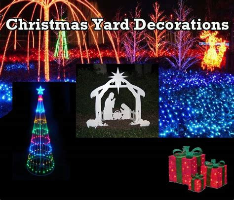 christmas yard decorations usa
