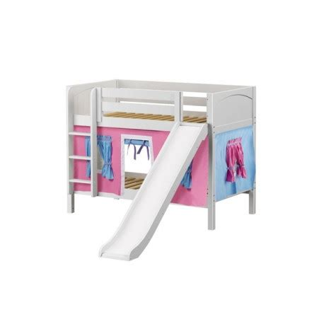 Bunk Bed W Slide Smile28 Maxtrix Bunk Bed Ladder Slide Tent Solid Wood
