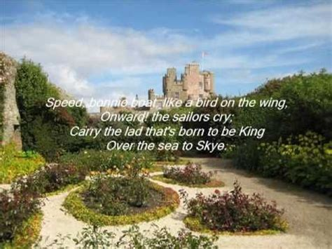 speed bonnie boat youtube the corries the skye boat song with lyrics youtube my